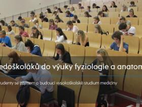 Integrace středoškoláků do výuky fyziologie a anatomie na LF